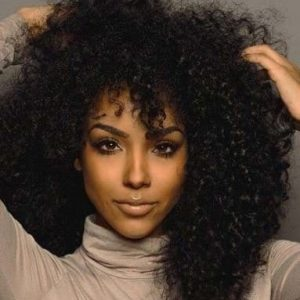 LACE WIG KINKY CURLY