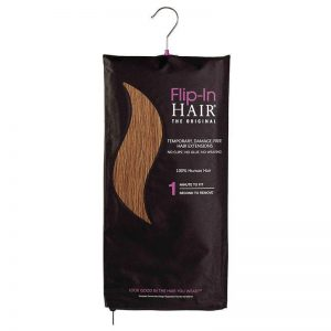 Flip in hair original Auburn light 30 (85 gram)