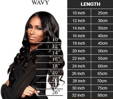 hairextensions lengte