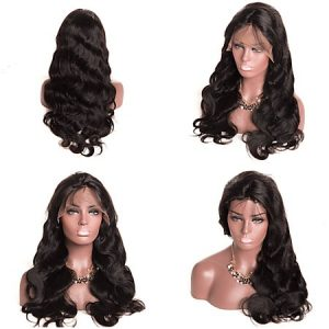 lace wig virgin hair 150